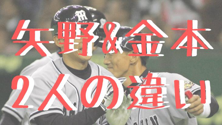 阪神金本と矢野